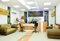 Hotel Mandakini Plaza, Kanpur - Kanpur - フロントデスク