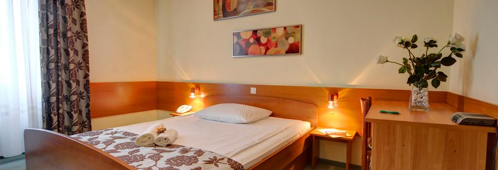 ホテル パーク アーバン&グリーン - リュブリャナ - 寝室