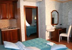 ユーロ ハウス イン エアポート - フィウミチーノ - 寝室