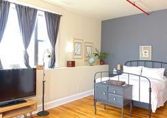 ザ ボックス ハウス ホテル - ブルックリン - 寝室