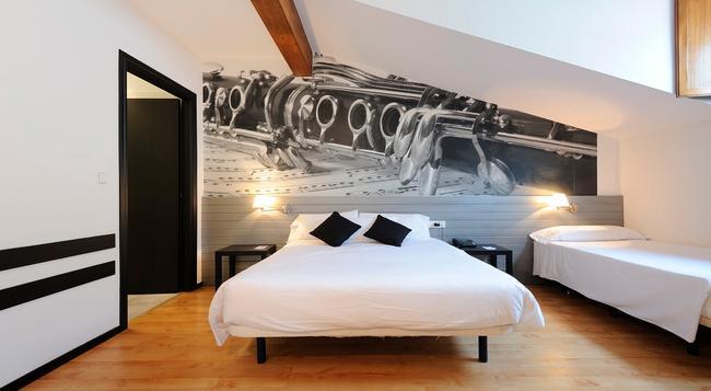 Abba Jazz Hotel - Vitoria-Gasteiz - 寝室