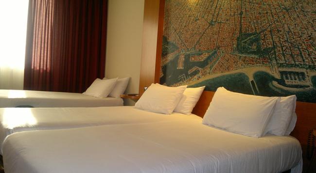アバ サンツ - バルセロナ - 寝室