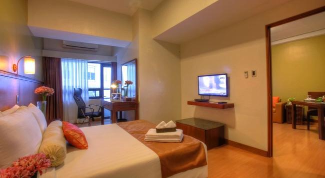 ザ マラヤン プラザ ホテル - マニラ - 寝室