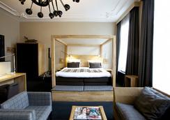 ホテル ファンデル アムステルダム - アムステルダム - 寝室