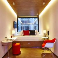 シティズンM ニューヨーク タイムズ スクエア Guestroom