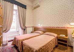 ホテル オルビス - ローマ - 寝室