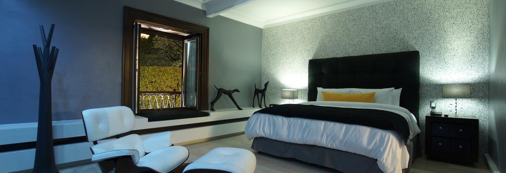 ホテル ブティック 1850 - グアナファト - 寝室