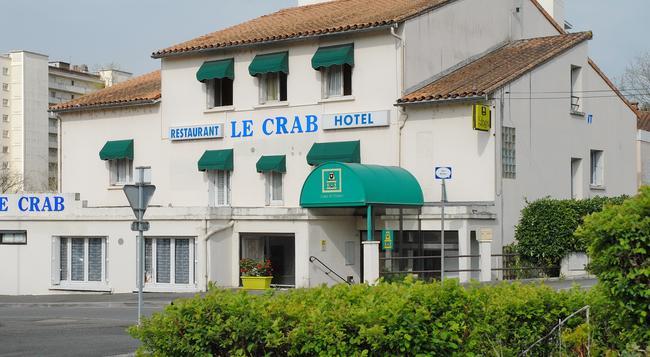 Hôtel Restaurant Le Crab - アングレーム - 建物