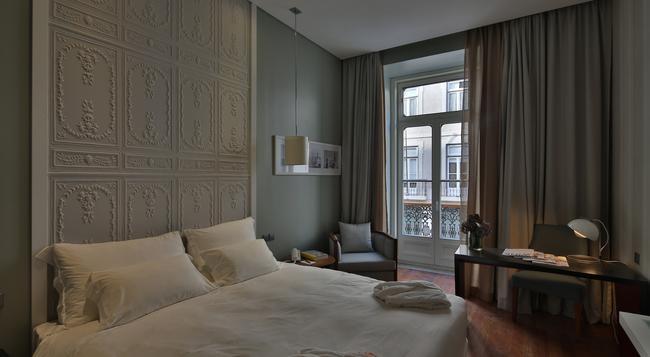 ポサーダ デ リスボン スモール ラグジュアリー ホテルズ オブ ザ ワールド - リスボン - 寝室