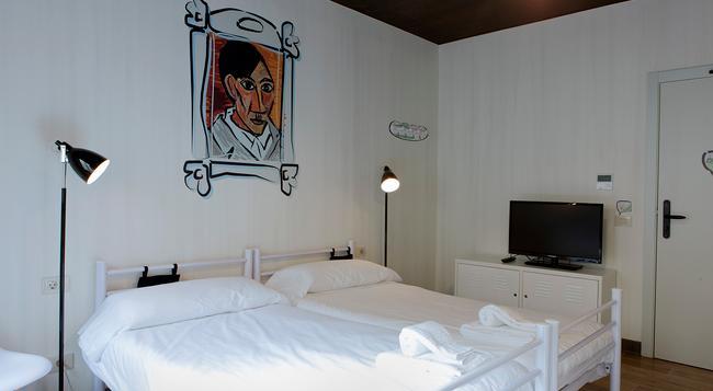 ルーム007 ベンチュラ ホステル - マドリード - 寝室