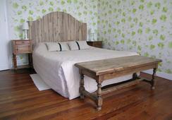 Domaine de Bellevue Cottage, Chambres d'Hôtes - ベルジュラック - 寝室