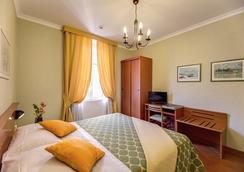 ホテル コロナ - ローマ - 寝室