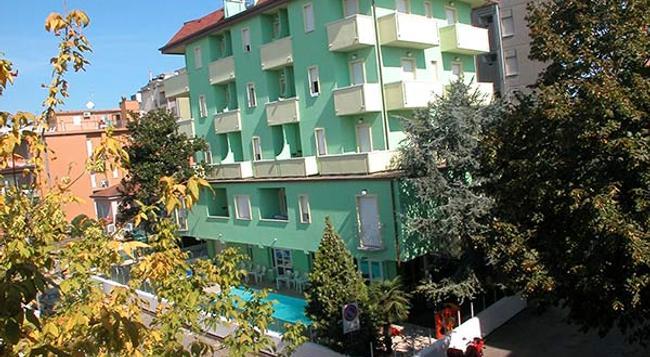 Residence Eurogarden - リミニ - 建物