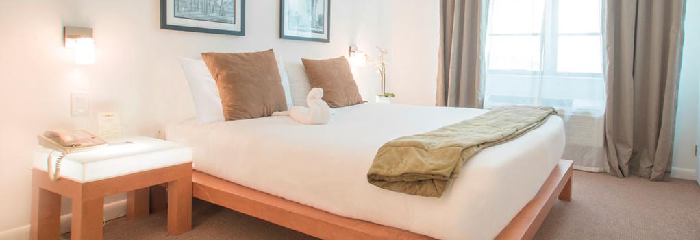 Mimosa Hotel - マイアミ・ビーチ - 寝室