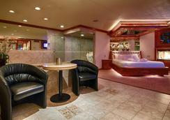 Sybaris Pool Suites Northbrook - Adults Only - Northbrook - リビングルーム