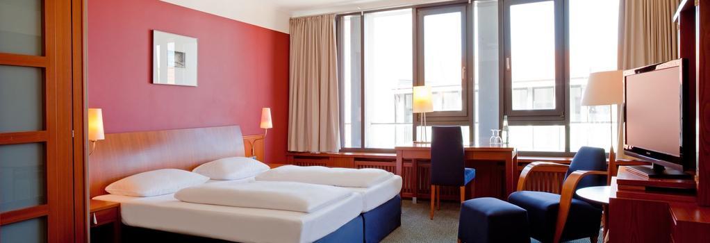 シュタイゲンベルガー ホテル ゾンネ - Rostock - 寝室