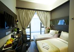 パルク ソブリン ホテル - ティリット - シンガポール - 寝室