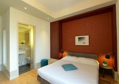 ホテル ペスタロッチ ルガノ - ルガノ - 寝室