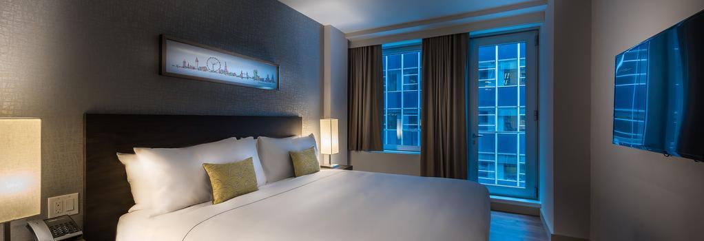 ザ バーニック ホテル - ニューヨーク - 寝室