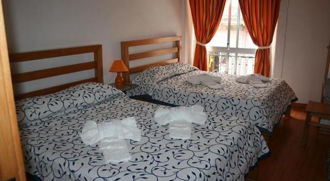 Residencial Flor Braganca - ポルト - 寝室