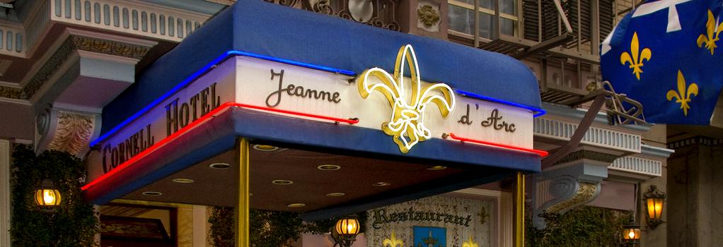 コーネル ホテル ド フランス - サンフランシスコ - 建物