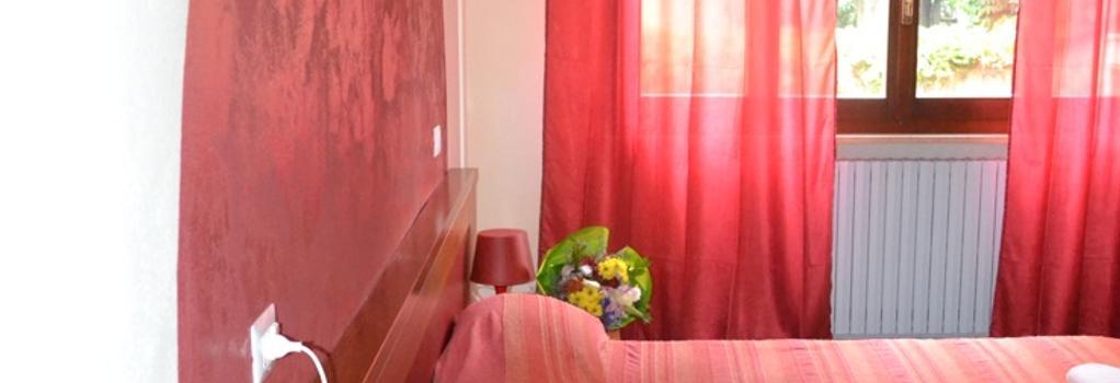 ヴィラ ジョイア - ミラノ - 寝室