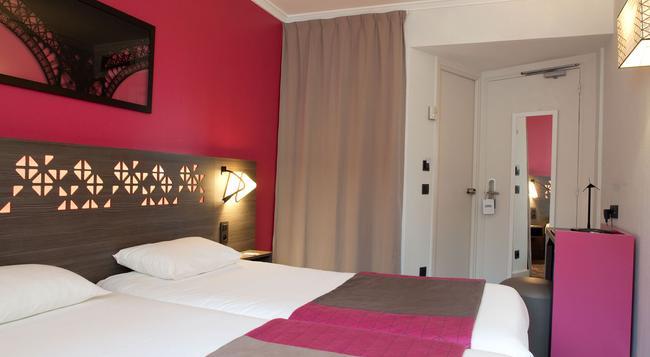ホテル エッフェル キャピトル - パリ - 寝室