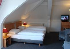 ロー ホテル - アムステルダム - 寝室