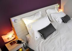 ホテル ヴィラ クギ ビアリッツ ホテル 7B - ビアリッツ - 寝室