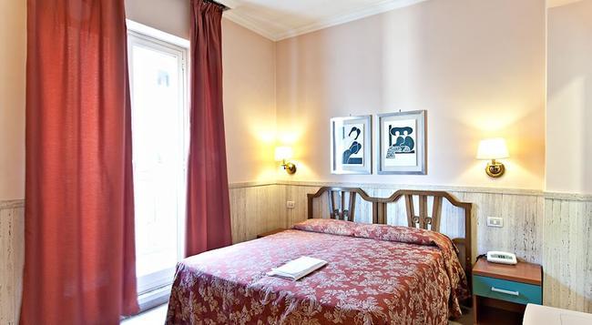 ホテル ピラミッド - ローマ - 寝室