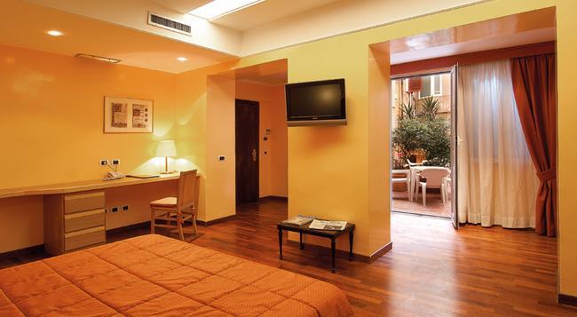 Hotel Cecil - ローマ - 寝室