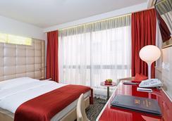 ホテル ザンクトゴッタード - チューリッヒ - 寝室
