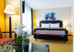 オイラー ホテル バーゼル - バーゼル - 寝室