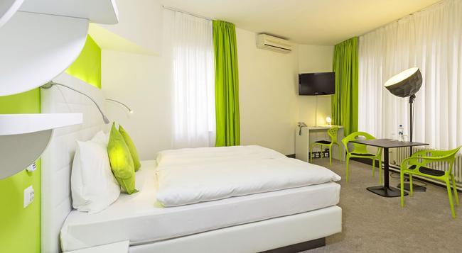 ホテル シティ イン - バーゼル - 寝室