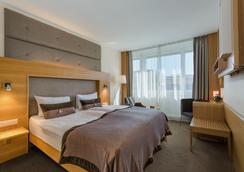 コンチネンタル ホテル ローザンヌ - ローザンヌ - 寝室