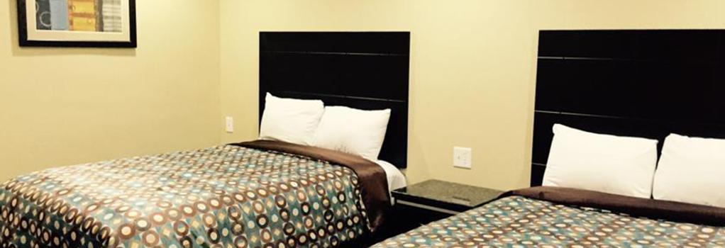 バークシャー モーター ホテル - サンディエゴ - 寝室