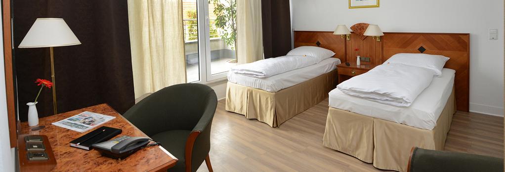 エレガント アパートホテル - ベルリン - 寝室