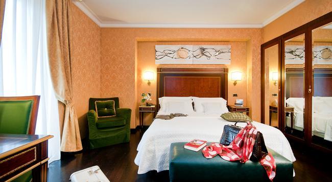 トリルッサ パレス ホテル コングレス & スパ - ローマ - 寝室