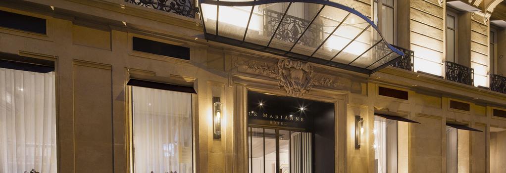 オテル ル マリアンヌ - パリ - 建物