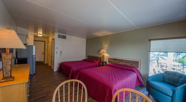 Ala Moana Motel - ワイルドウッド - 寝室