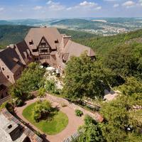 ロマンティック ホテル アウフ デア ヴァルトブルク Aerial View