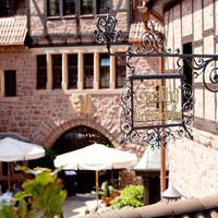 ロマンティック ホテル アウフ デア ヴァルトブルク Courtyard