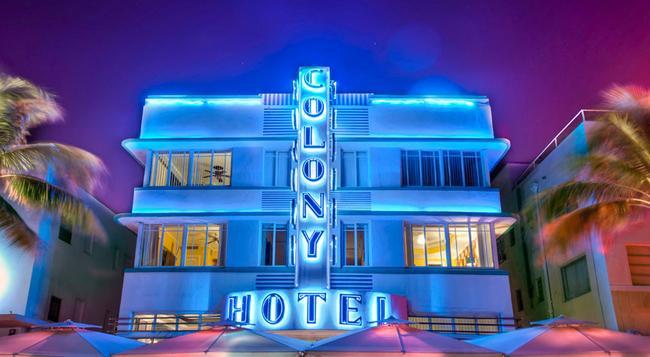 コロニー ホテル - マイアミ・ビーチ - 建物
