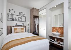 ホテル クローバー ジ アーツ - シンガポール - 寝室