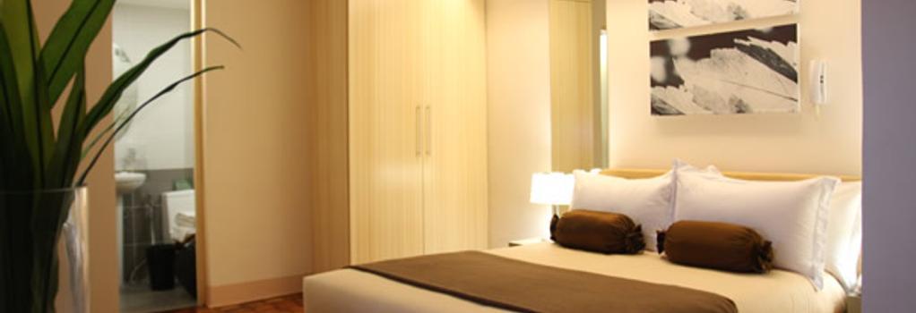 プリンス プラザ II コンドテル - Makati - 寝室