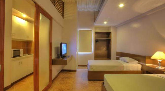 24h Apartment Hotel - Makati - 寝室