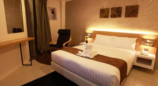 DWJ Hotel - Ipoh - 寝室