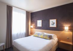 ホテル デ ザルティスト - リヨン - 寝室