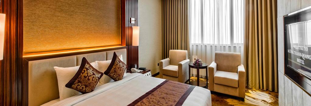 ムオン タン ラグジュアリー クアン ニン ホテル - ハロン - 寝室