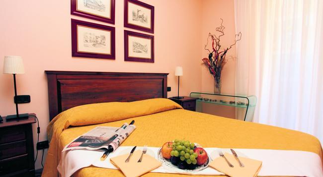 ヴィラ ジオウチ デルフィチ - ローマ - 寝室